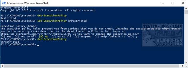 How to Run Windows PowerShell (Video) - MajorGeeks