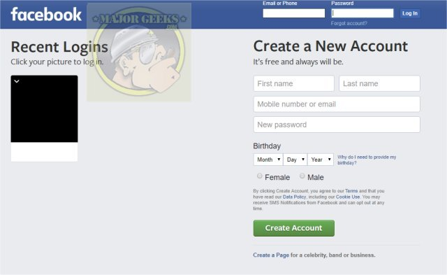 how to turn off facebook s annoying login with profile picture