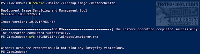How to Scan and Repair a Single File Using System File Checker
