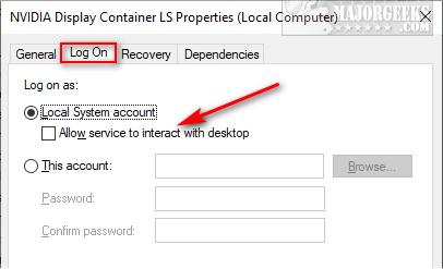 How to Fix NVIDIA Geforce Experience Error Code 0x0001 - MajorGeeks