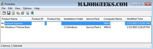 best free windows product key finder