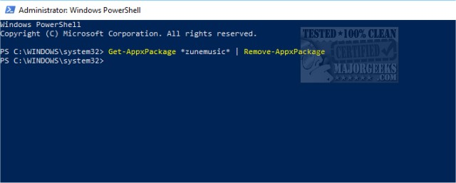 Remove Windows 10, 8 and 8 1 Built-In Apps Using PowerShell - MajorGeeks