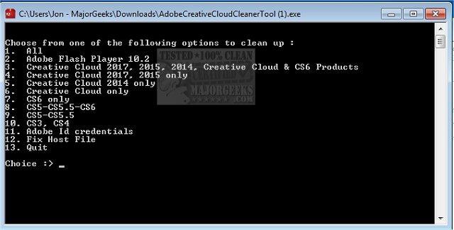 creative cloud cleaner tool ダウンロード