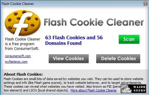 Download Flash Cookie Cleaner Majorgeeks