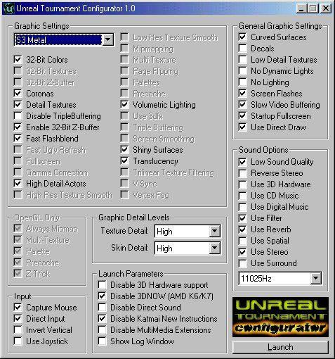 Download Unreal Tournament Configurator - MajorGeeks