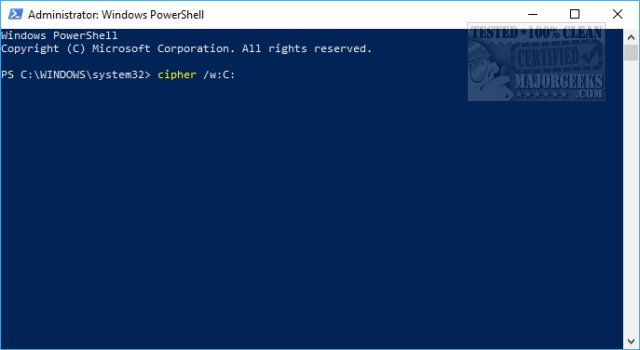 How to Securely Delete Files in Windows 10 With PowerShell