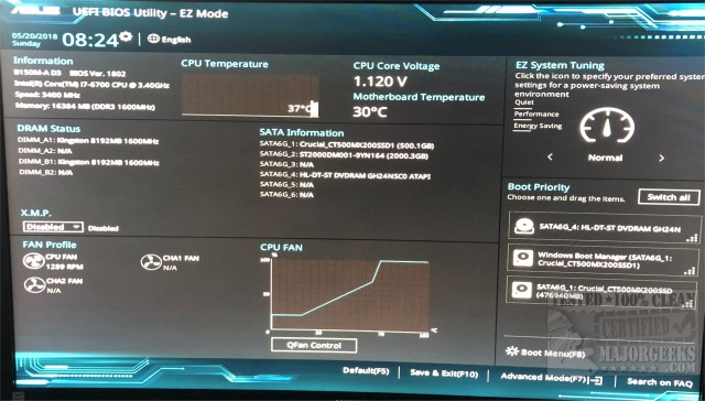 How to Reset Your BIOS to Optimal, Default or Factory