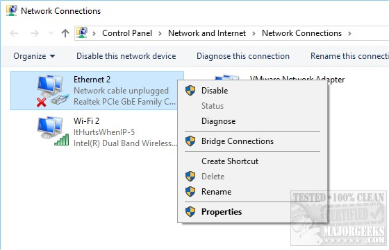 Your Connection Was Interrupted - A Network Change Was