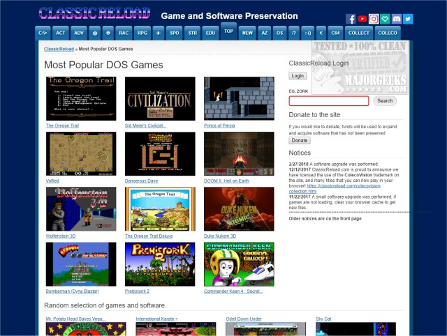 5 Websites to Play Classic DOS Games in Your Browser for