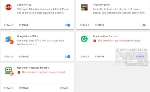 How-To Fix Google Chrome Black Screen Issues - MajorGeeks