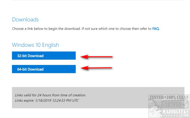How to Download the Latest Windows 10 ISO Images Directly in