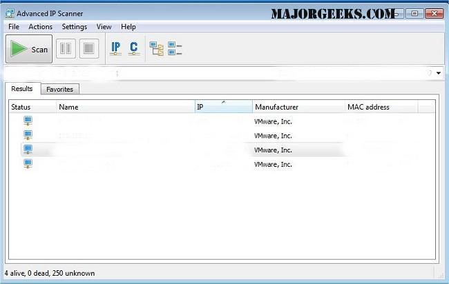 Download Advanced IP Scanner - MajorGeeks