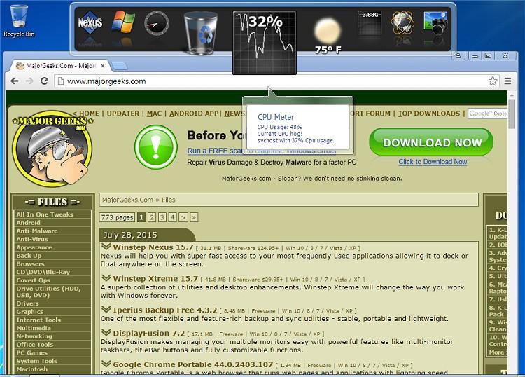 Download Winstep Nexus - MajorGeeks