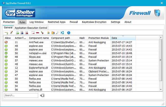 Download SpyShelter Free Anti-Keylogger - MajorGeeks