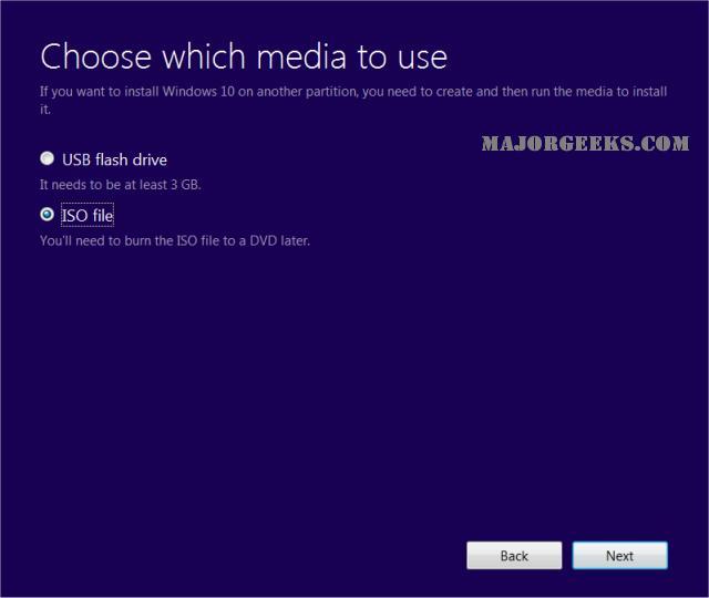 Download Windows 10 Media Creation Tool Majorgeeks