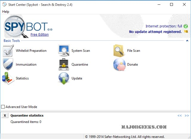 spybot search and destroy free download old version