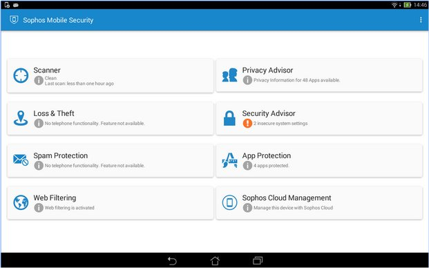 Download Sophos Free Antivirus and Security for Android