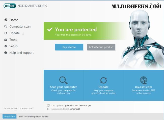 antivirüs indir nod32
