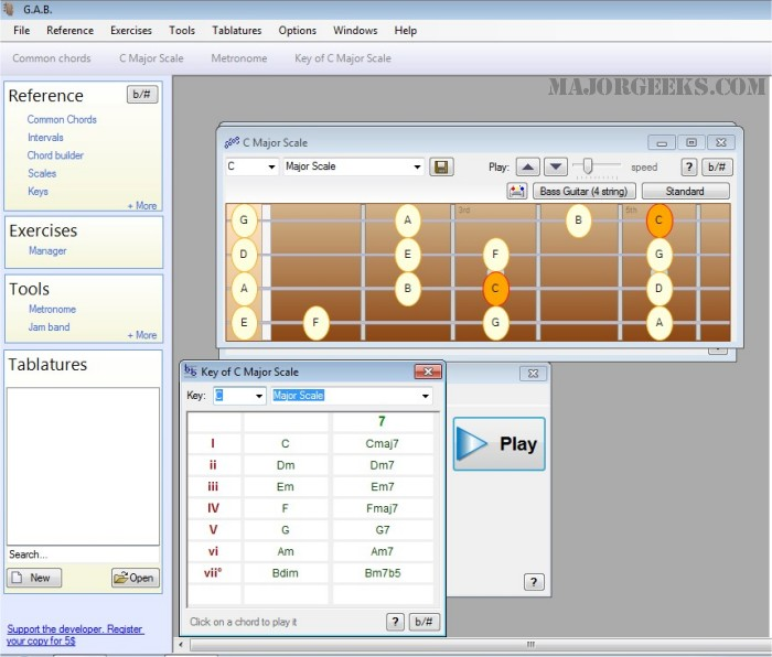 Download Guitar And Bass Gab Majorgeeks