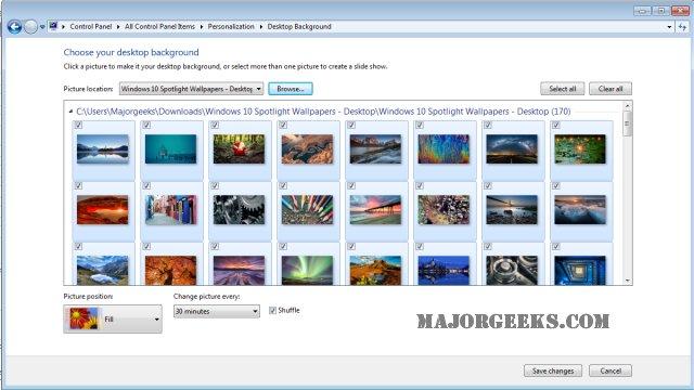 Download Windows 10 Spotlight Wallpapers - MajorGeeks