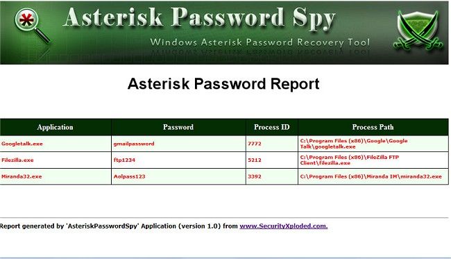 Download Asterisk Password Spy - MajorGeeks