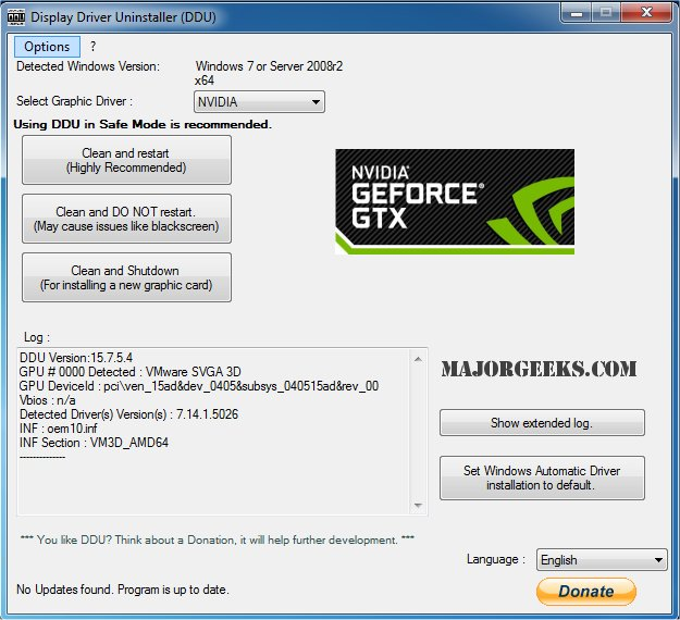 nvidia drivers clean install windows 10