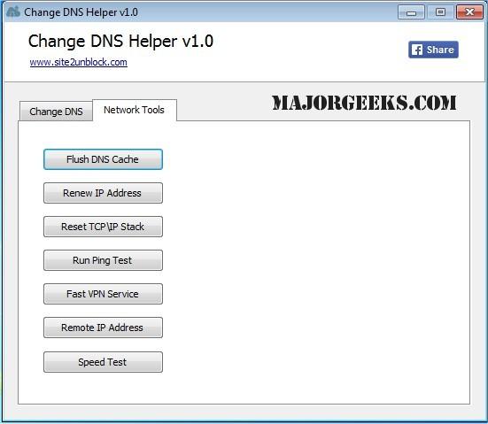 Download Change DNS Helper - MajorGeeks