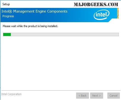 Download Intel Management Engine Consumer Driver - MajorGeeks