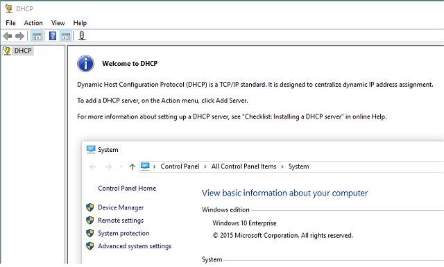 Download DHCP Console for Windows 10 - MajorGeeks