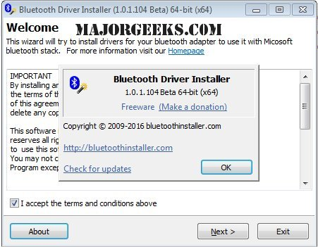 Download Bluetooth Driver Installer - MajorGeeks