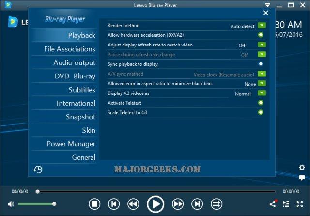 Download Leawo Blu-Ray Player - MajorGeeks