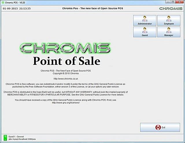 Download Chromis POS - MajorGeeks