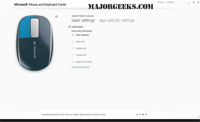 Download Microsoft Mouse and Keyboard Center - MajorGeeks