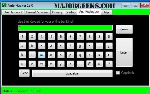Download Anti-Hacker - MajorGeeks