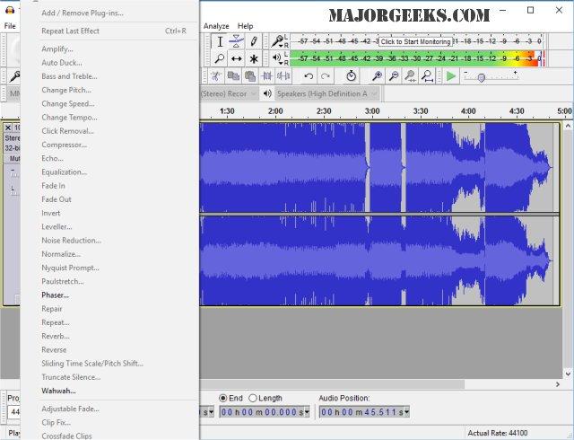 Download Audacity - MajorGeeks