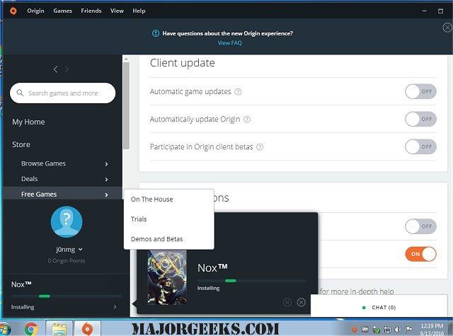 download origin for pc majorgeeks