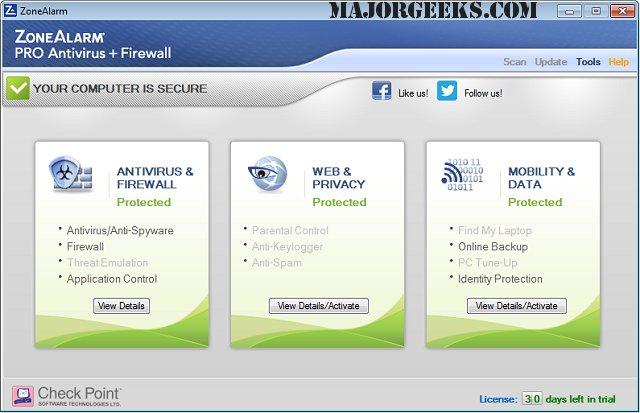 Zonealarm antivirus download full free   ZoneAlarm Extreme Security