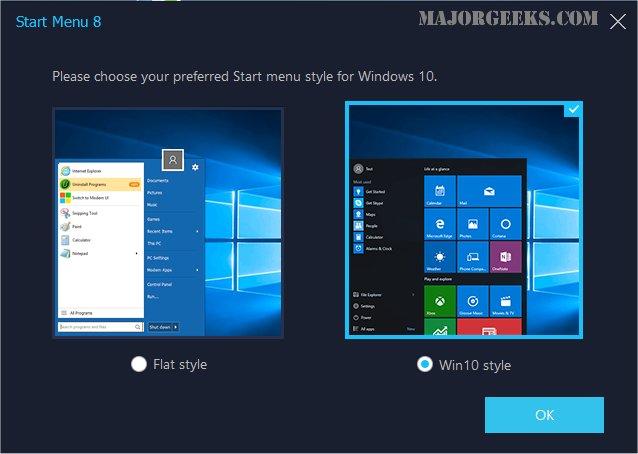 Windows start menu windows 8 1 скачать