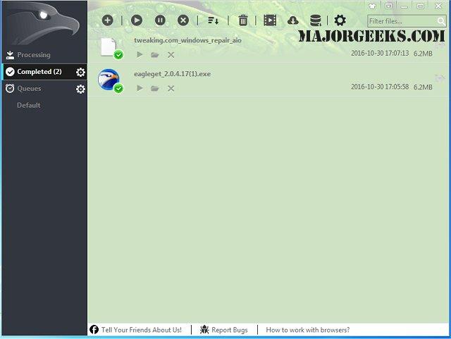 Download EagleGet - MajorGeeks
