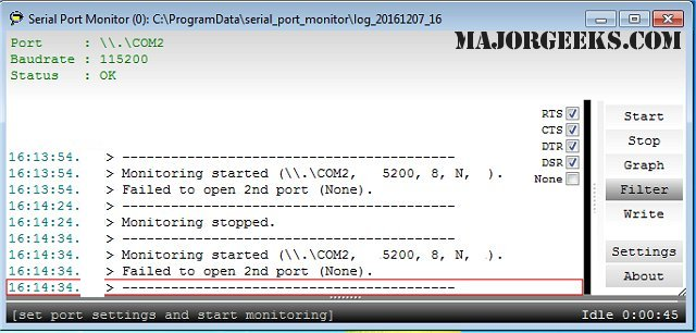 Download Simple Serial Port Monitor - MajorGeeks