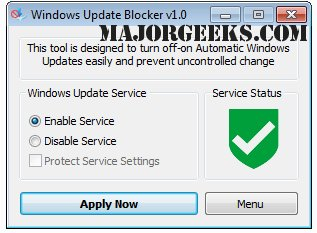 Download Windows Update Blocker - MajorGeeks