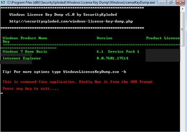 Download Windows License Key Dump Majorgeeks
