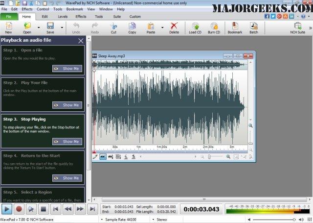 wavepad sound editor activation code