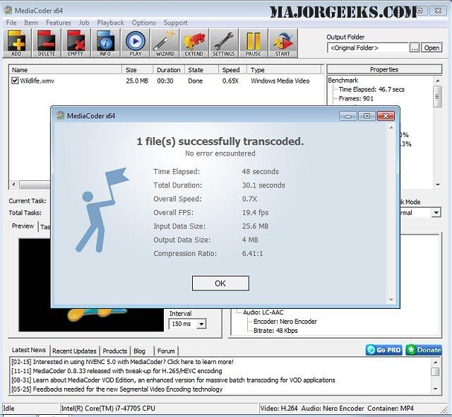 Download MediaCoder 32-Bit - MajorGeeks