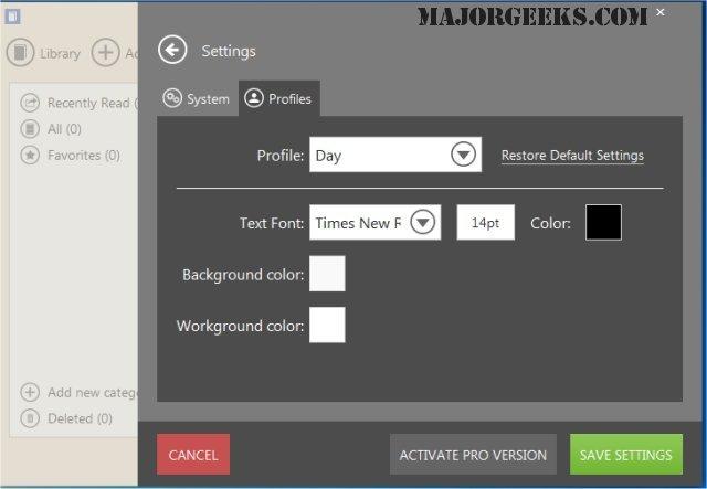 Download Icecream Ebook Reader - MajorGeeks