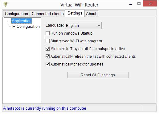 Download Virtual Wi-Fi Router - MajorGeeks