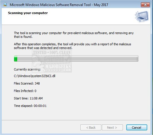Download Microsoft Malicious Software Removal Tool - MajorGeeks