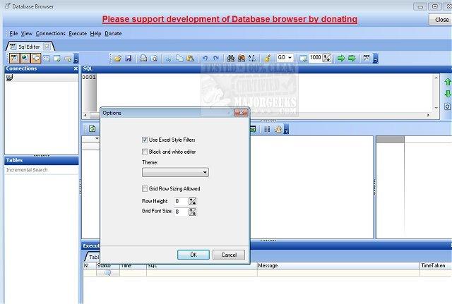 Download Database Browser - MajorGeeks