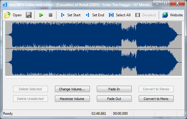 Download Free MP3 Cutter and Editor - Portable - MajorGeeks