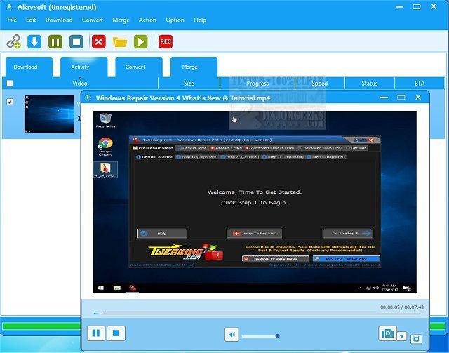 Download Allavsoft - MajorGeeks